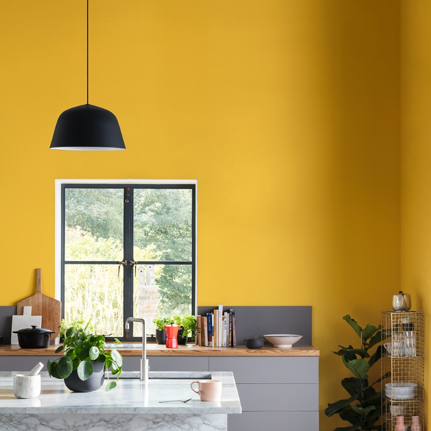 Bright Idea: Decorating with Yellow