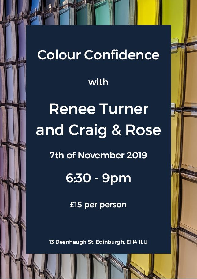 Craig & Rose Invites you to a Colour Confidence Event with Renee Turner Interiors