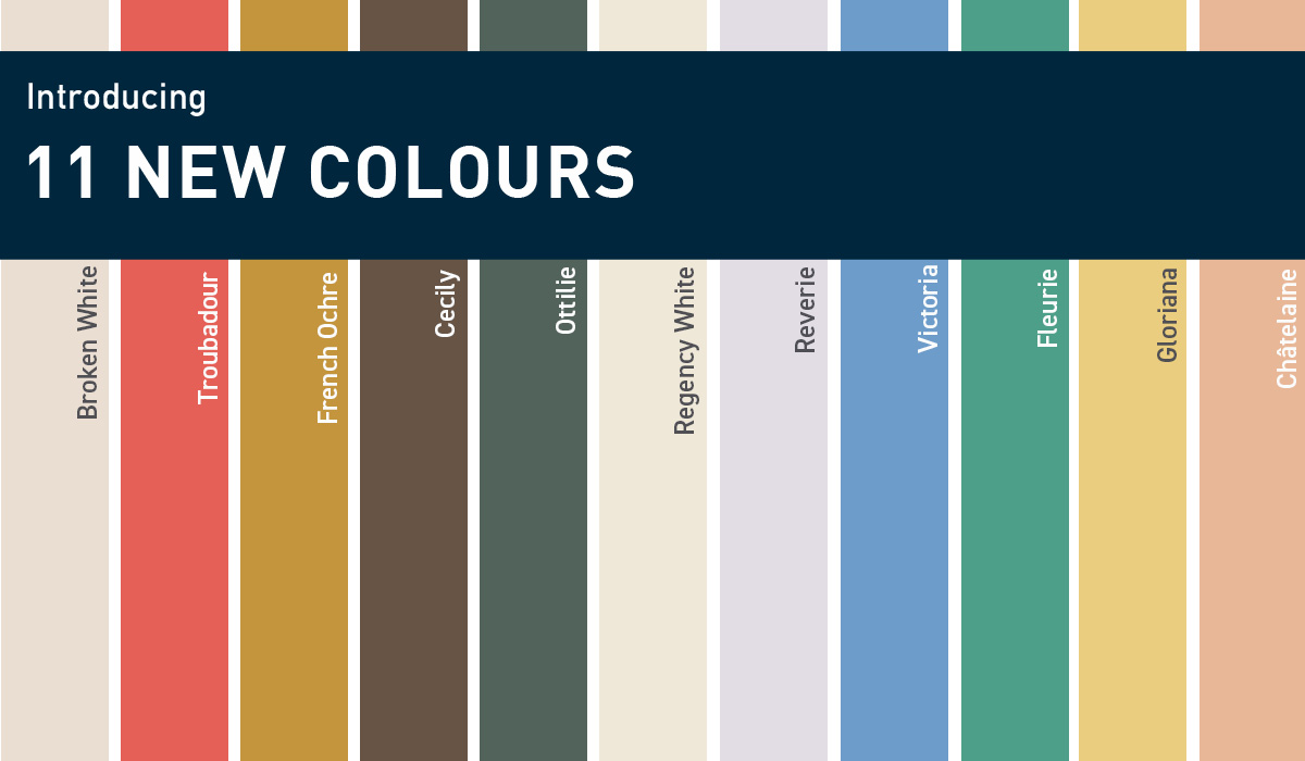 Eleven NEW Reasons to Love Colour