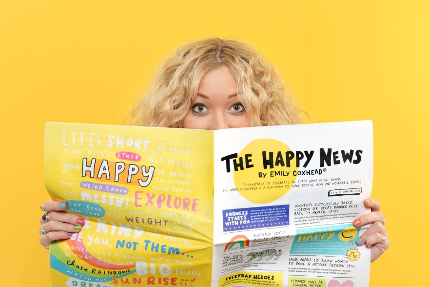 Design Insider: The Happy Newspaper Founder Emily Coxhead on Colour and Happiness
