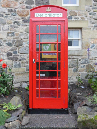 TURNING PHONE BOXES INTO LIFE SAVERS