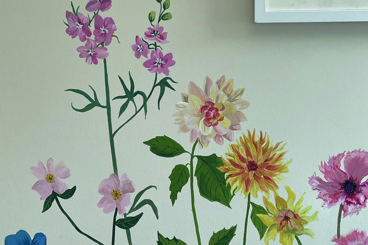 Get Creative with Wall Murals