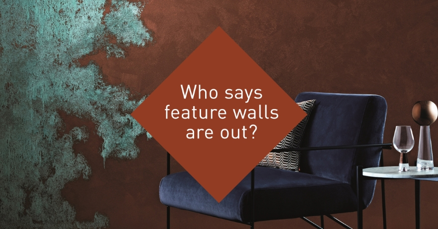 Who says feature walls are out