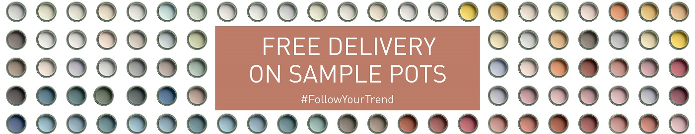 Free delivery on all Craig & Rose 1829 Sample Pots