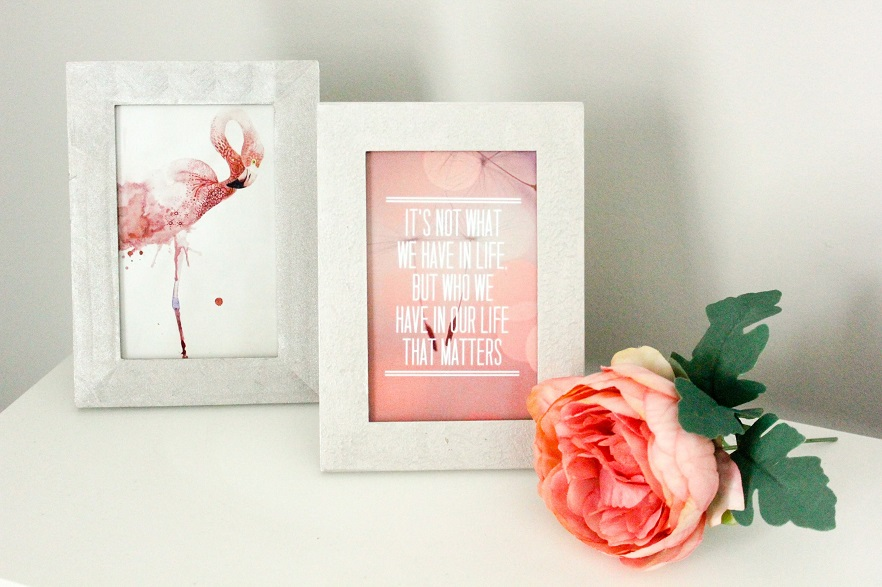 Pearl Effect Picture Frame