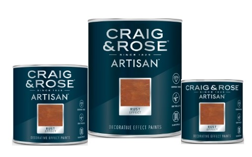 Craig and Rose Rust Effect